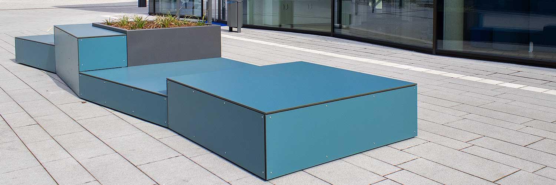 Moderne Sitzmodule