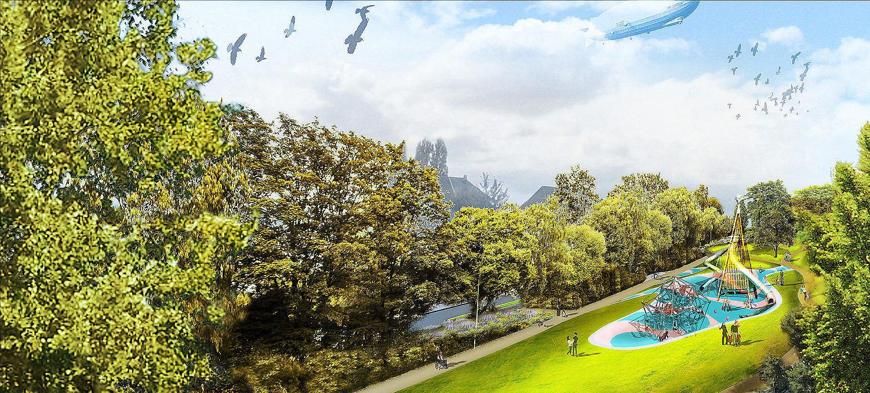 Entwurf Landschaftsarchitektur